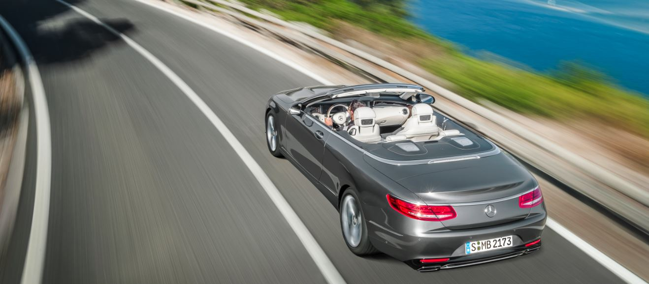 Mercedes-Benz Clase S Cabrio Trasera