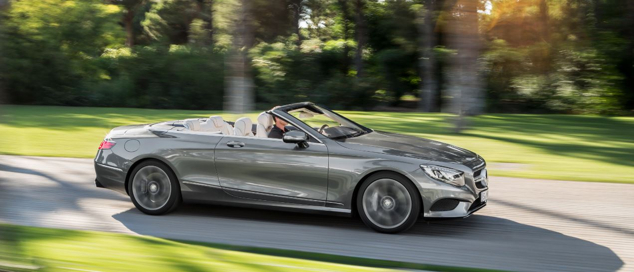Mercedes-Benz Clase S Cabrio lateral