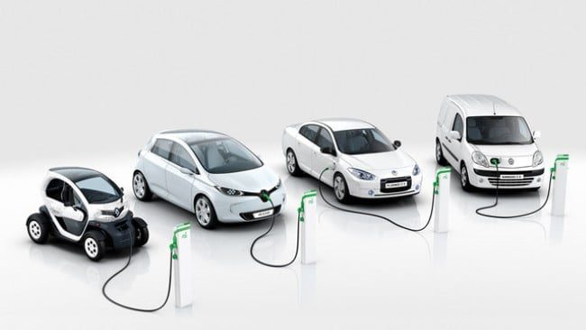 coches electricos renault