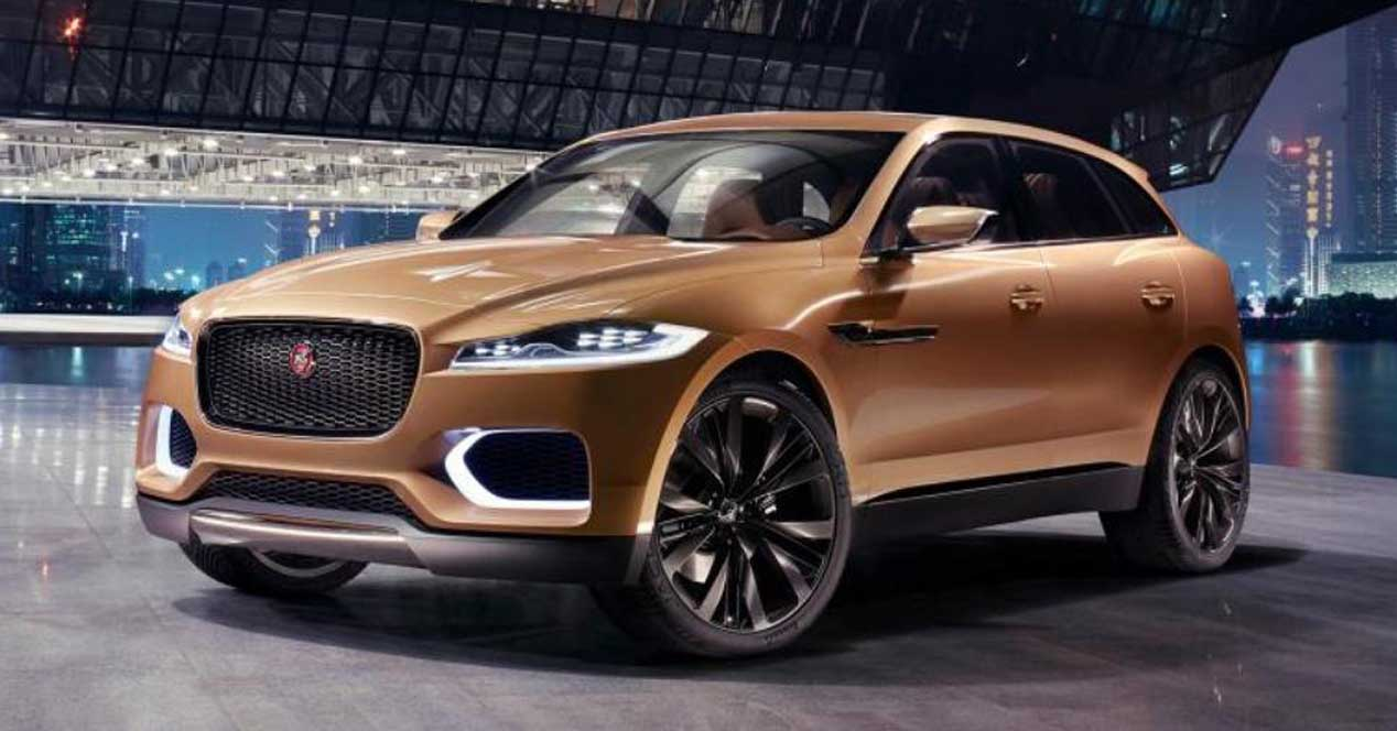 jaguar e pace la versi n el ctrica del suv f pace en camino. Black Bedroom Furniture Sets. Home Design Ideas