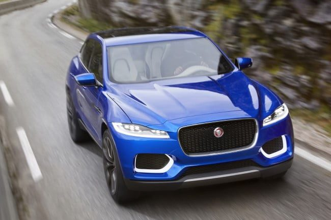 jaguar f pace carretera