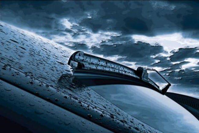 lluvia coche