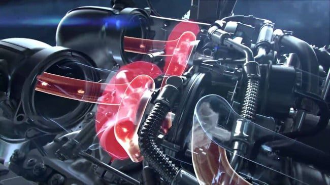 mercedes amg gt s motor