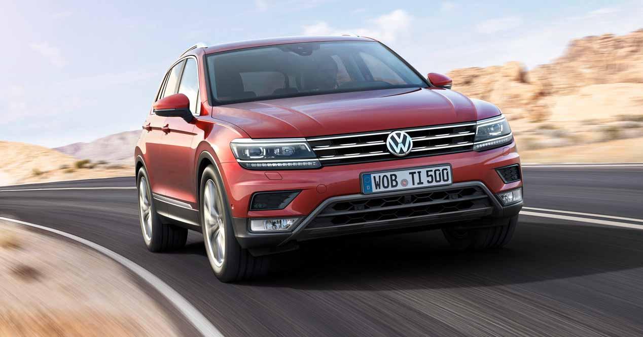 Volkswagen tiguan 2017 frontal
