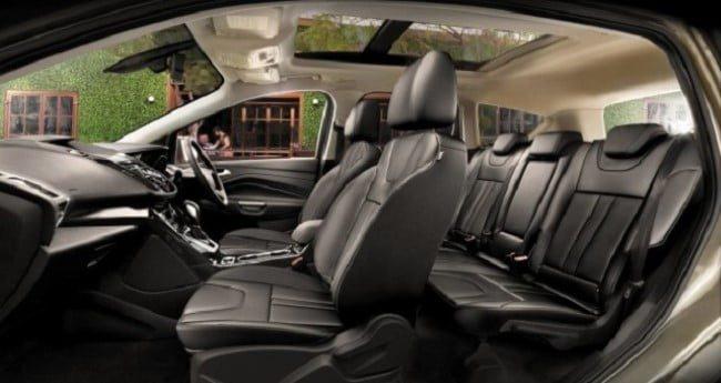 Ford Kuga 2015 interior