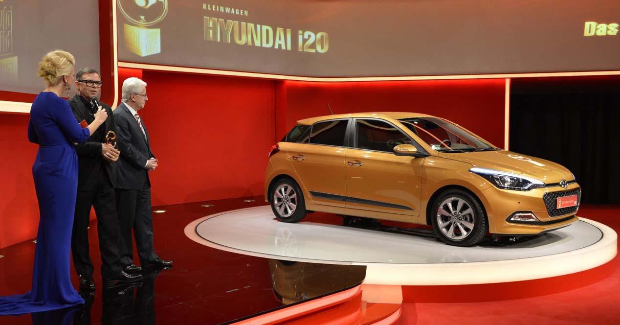 Hyundai i20 Golden Steering Wheel