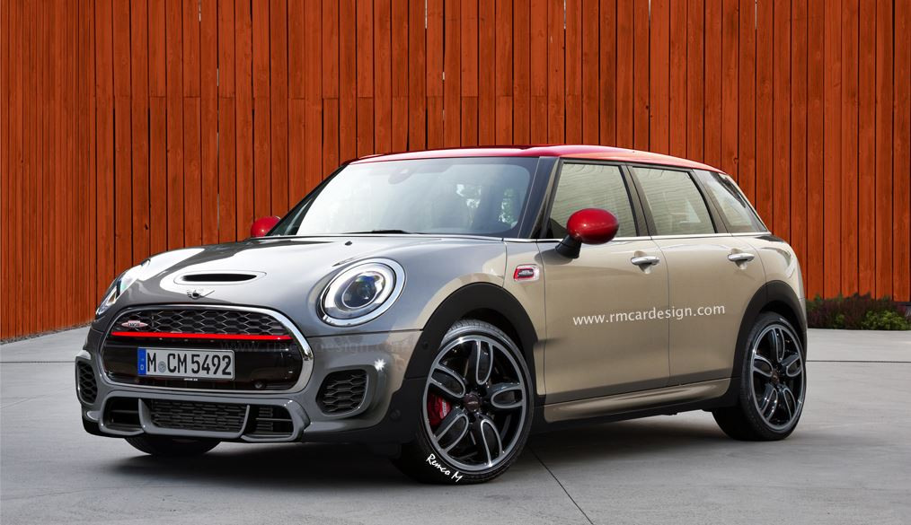 la versi n john cooper works de los mini countryman y clubman podr an tener 300 cv. Black Bedroom Furniture Sets. Home Design Ideas