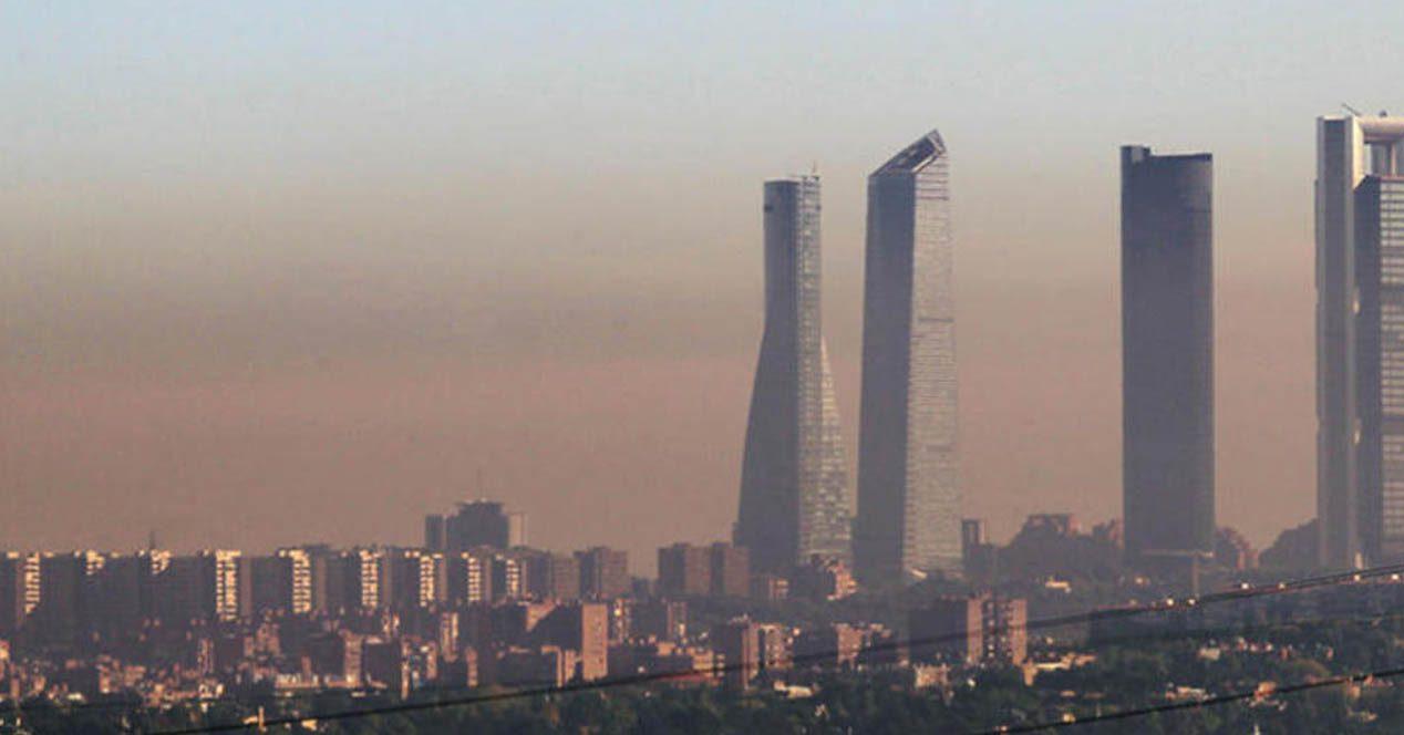 polucion en madrid