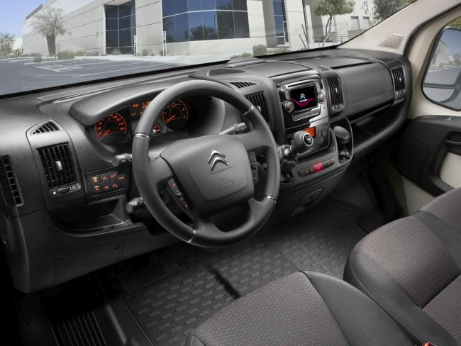 Citroën Jumper interior