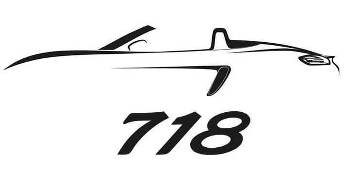 Olvídate del Boxter y el Cayman, ahora serán Porsche 718