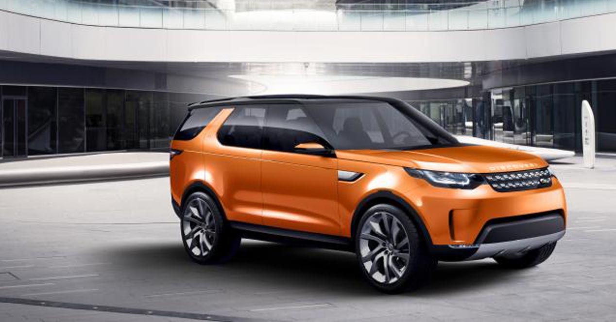land rover vision concept