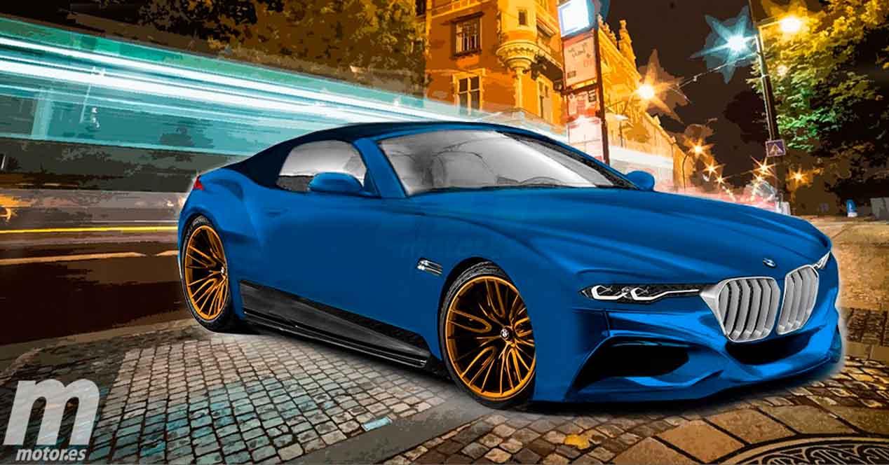 BMW Z5 2018 render