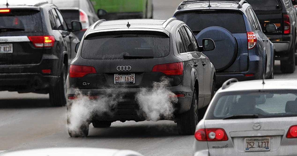 gases escape motores diesel