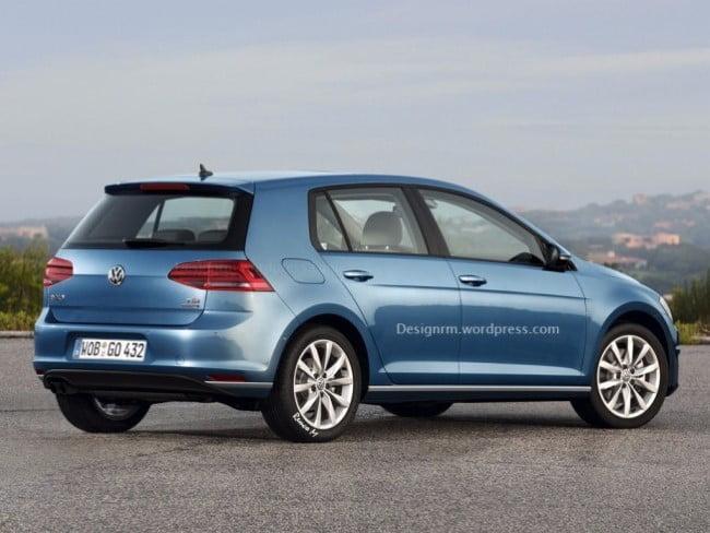Volkswagen Golf VII restyling