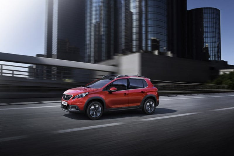 Peugeot 2008 restyling 2016