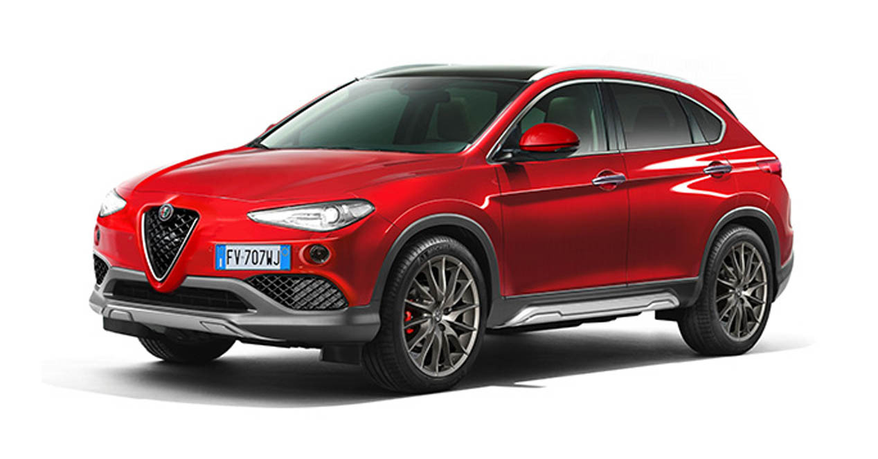 alfa romeo stelvio as se llama su primer suv. Black Bedroom Furniture Sets. Home Design Ideas