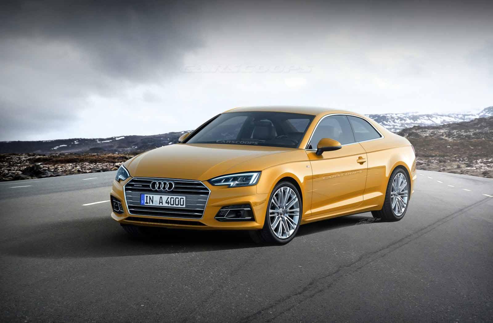 Audi A5 2017 render