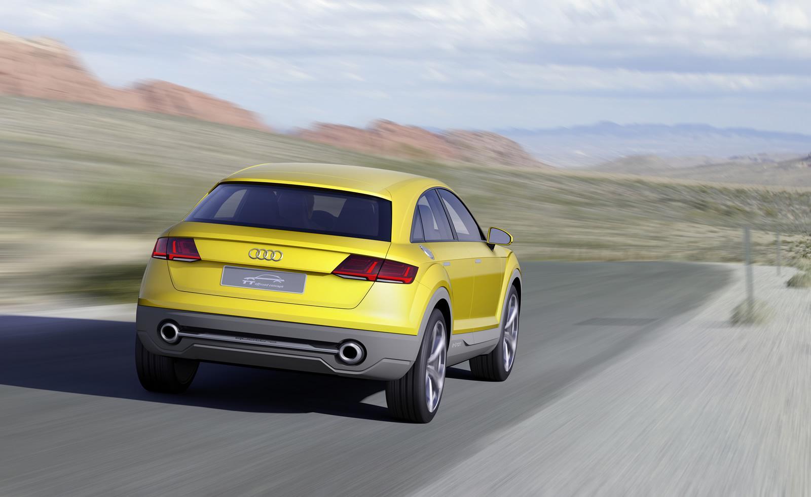 Audi TT offroad trasera