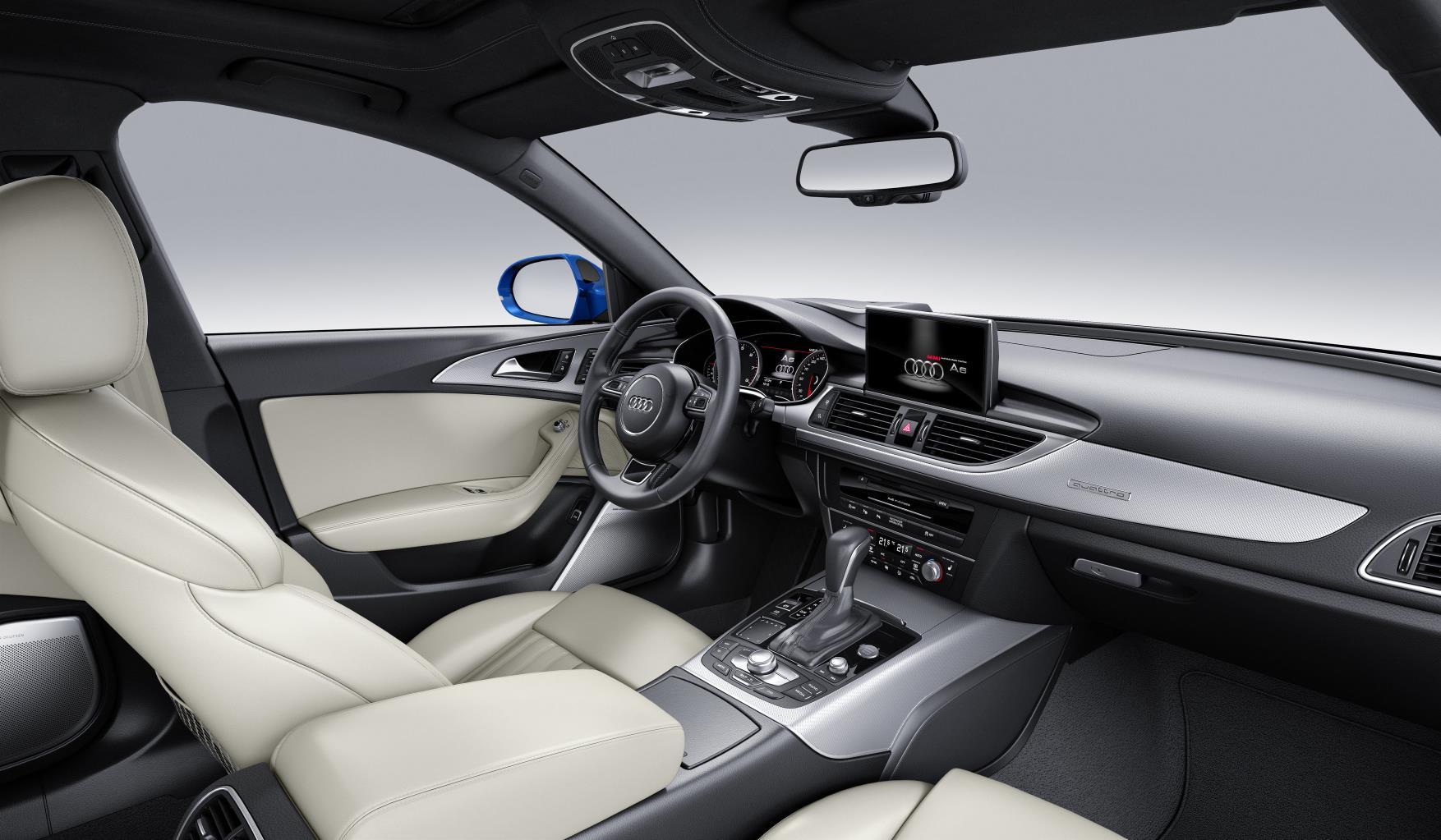 interior Audi A6 2016