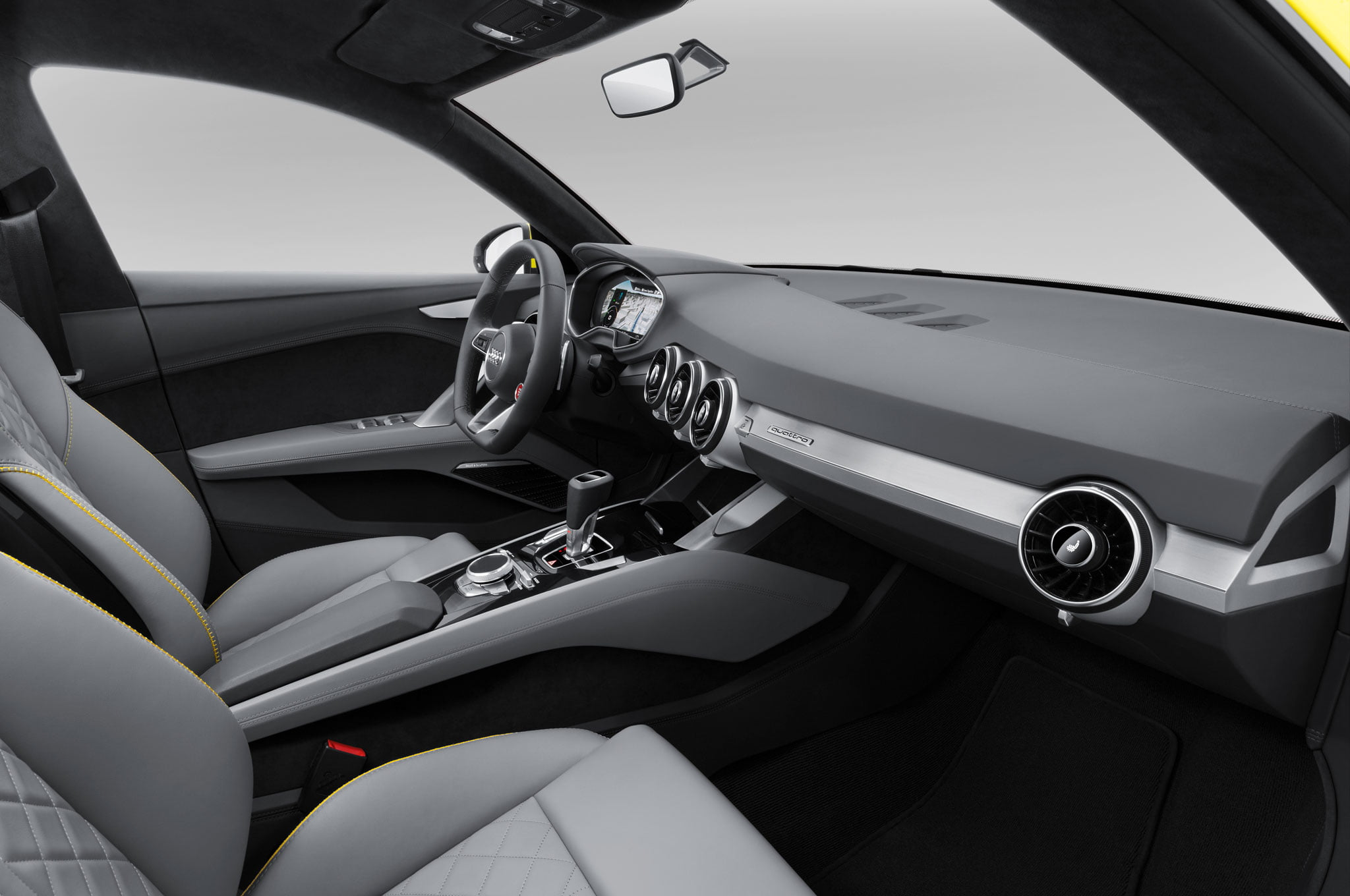 Audi TT offroad interior