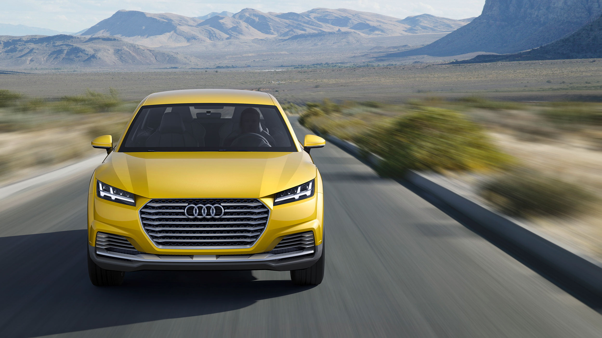Audi TT offroad frontal