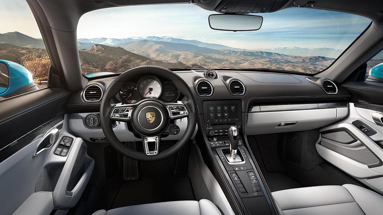 porsche 718 cayman 2016 interior