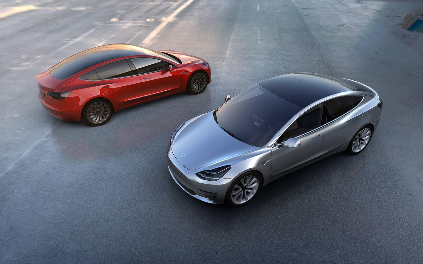 tesla model 3 diseño exterior berlina