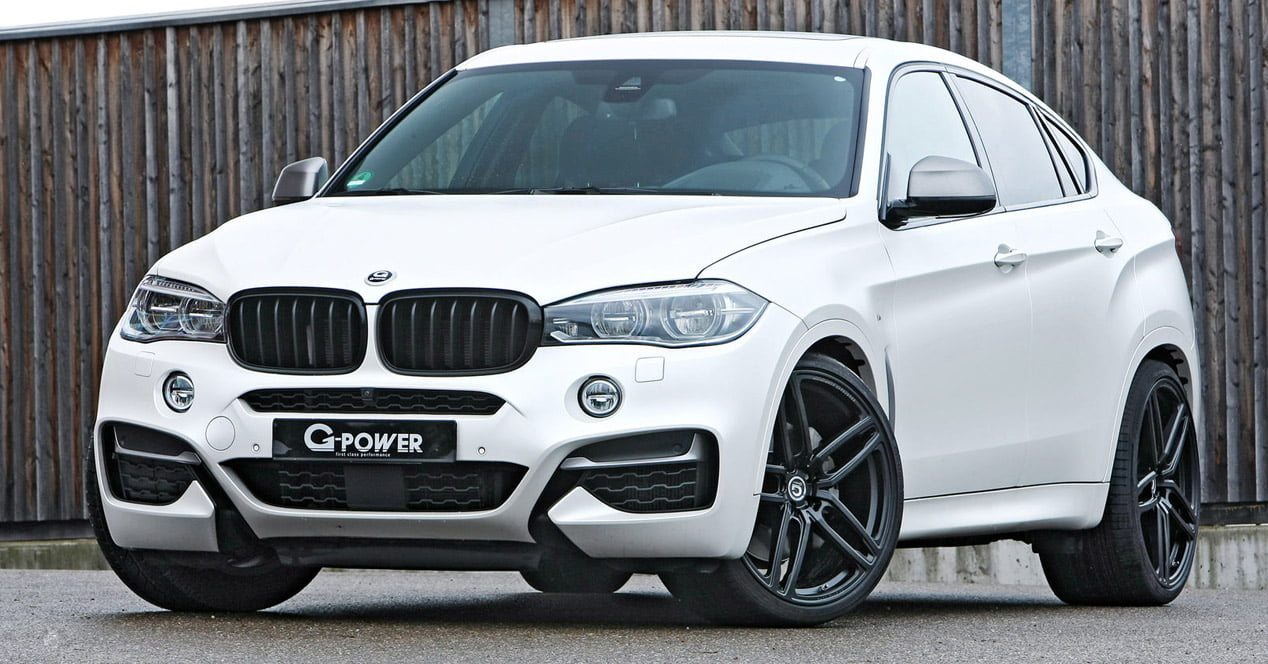 bmw x6 m50 d frontal g power