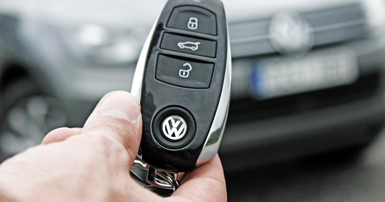 llave inalambrica coche