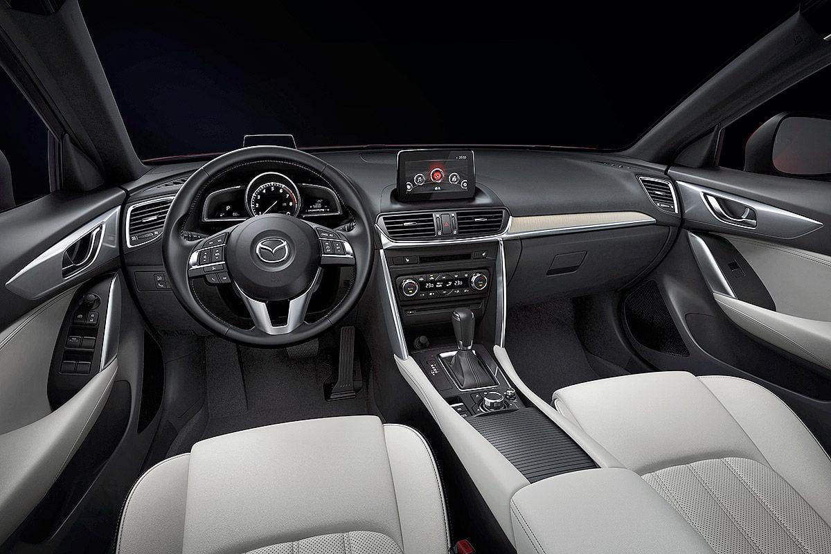 mazda cx-4 interior