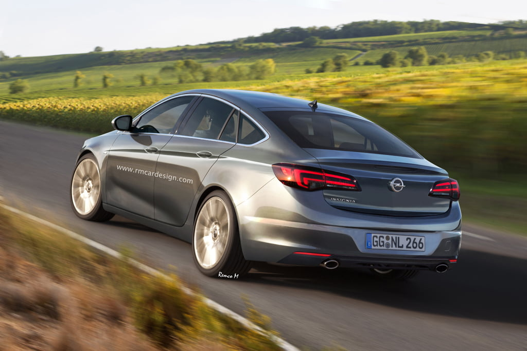 Así dicen que será el próximo Opel Insignia