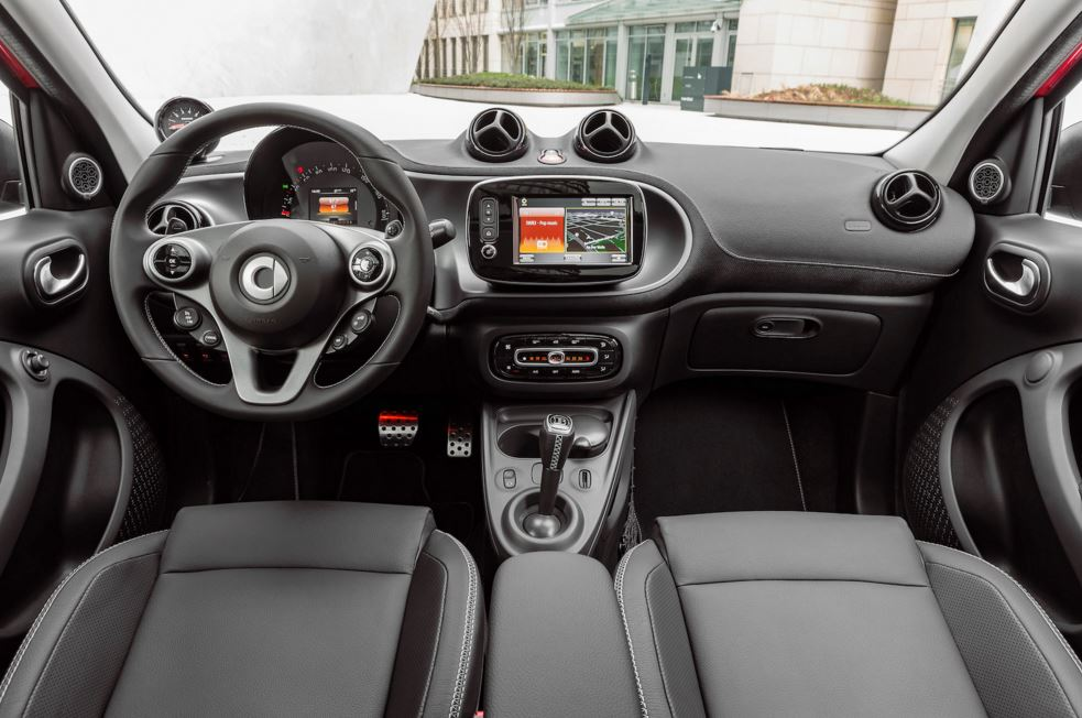 smart forfour brabus interior