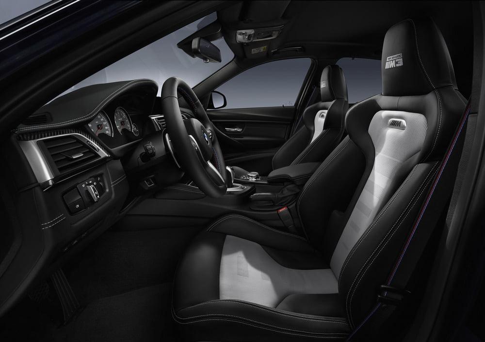 interior BMW M3 30 años