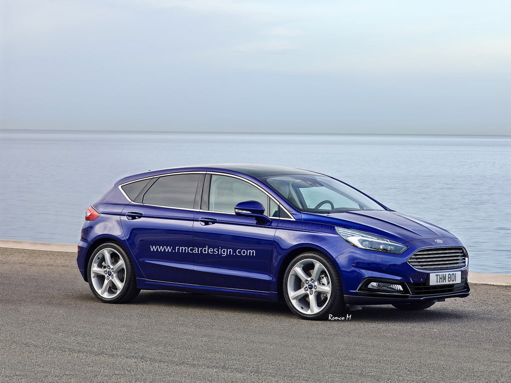 ford focus 2018 render frontal