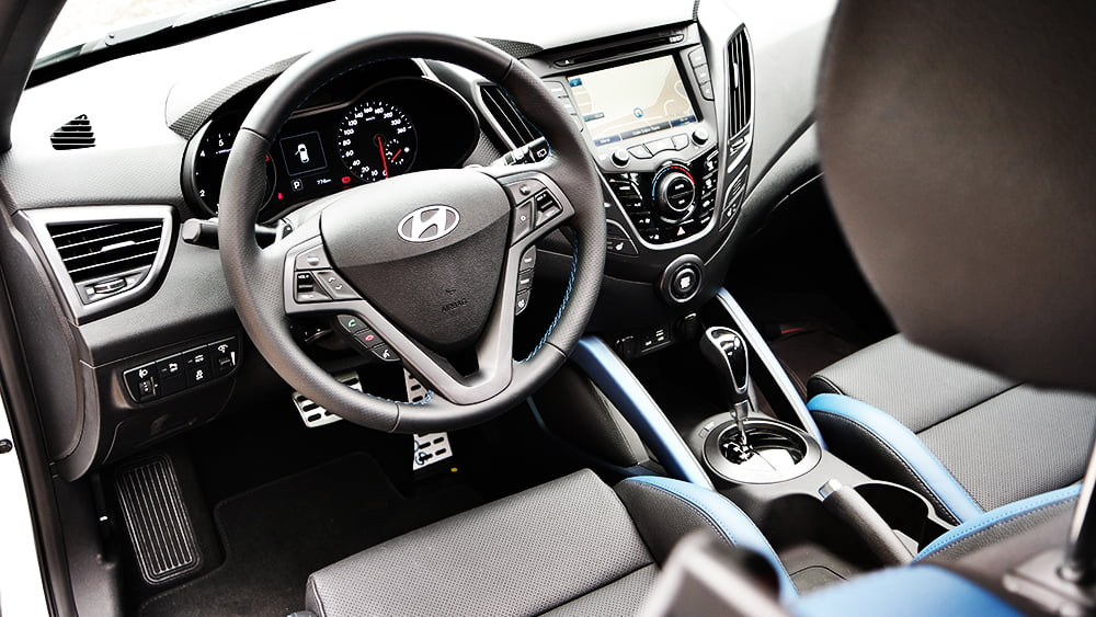 interior hyundai veloster turbo