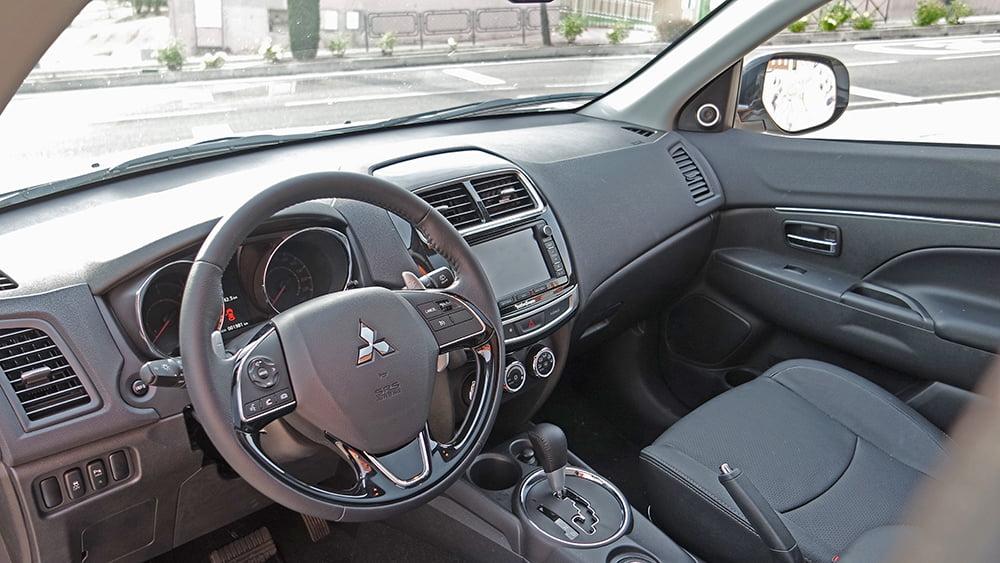 mitsubishi asx 220 did interior