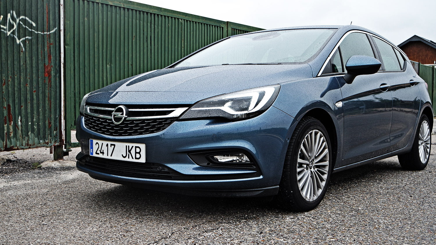 opel astra 2016 frontal