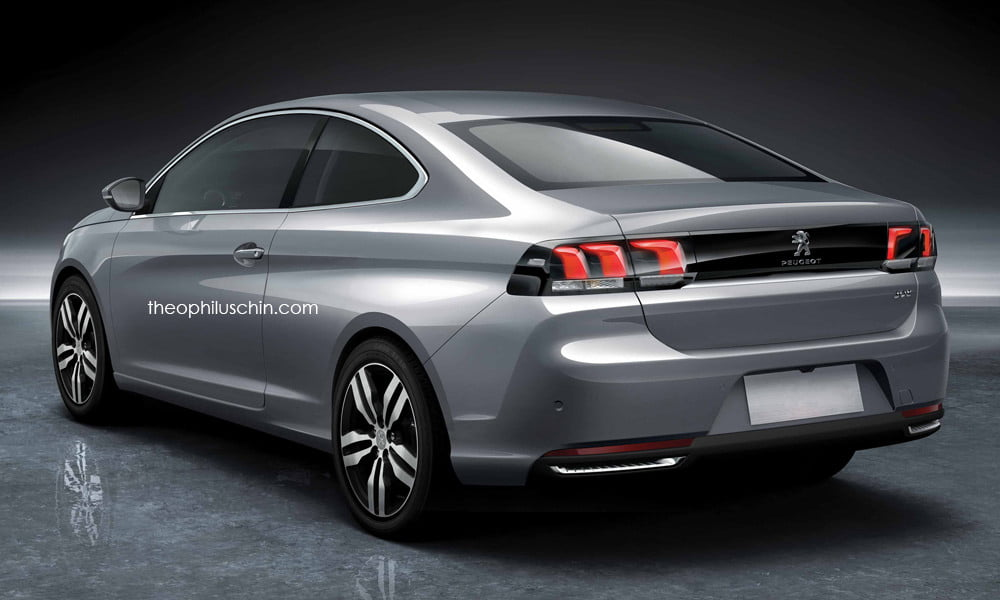 peugeot 308 coupe trasera