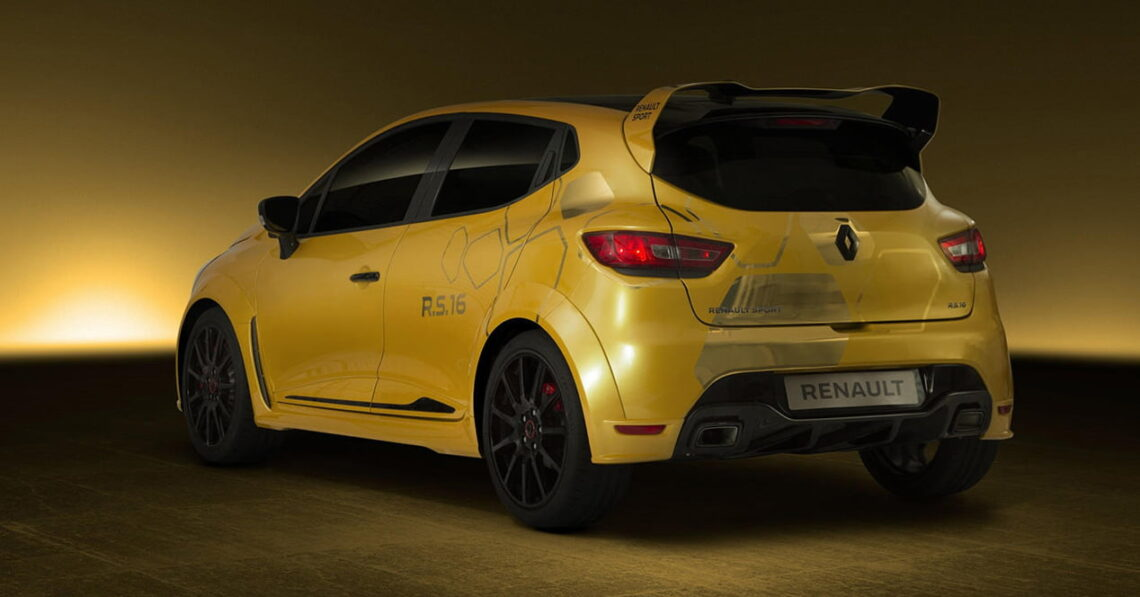 renault clio rs 16 trasera