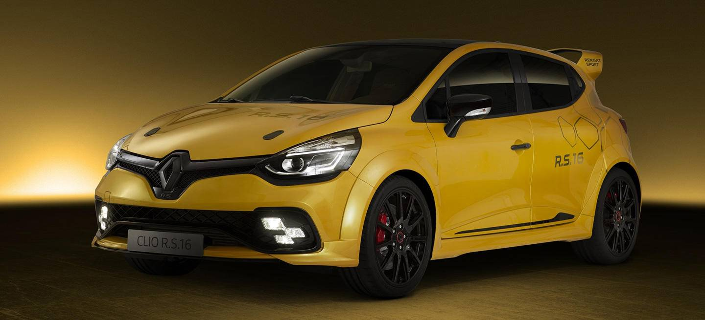 renault clio rs 16 frontal