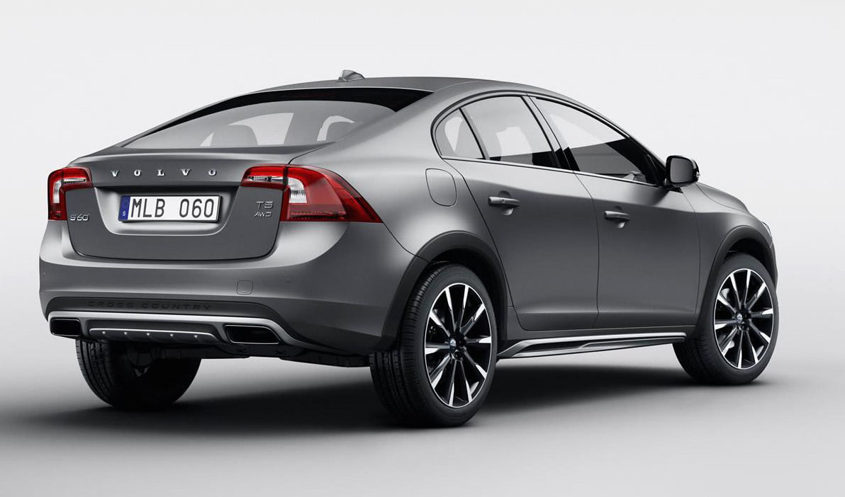 volvo s60 cross country trasera