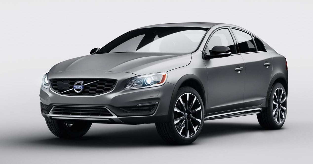 volvo s60 cross country frontal