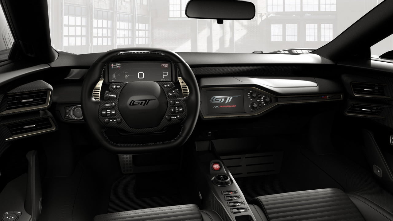 ford gt 66 heritage edition interior