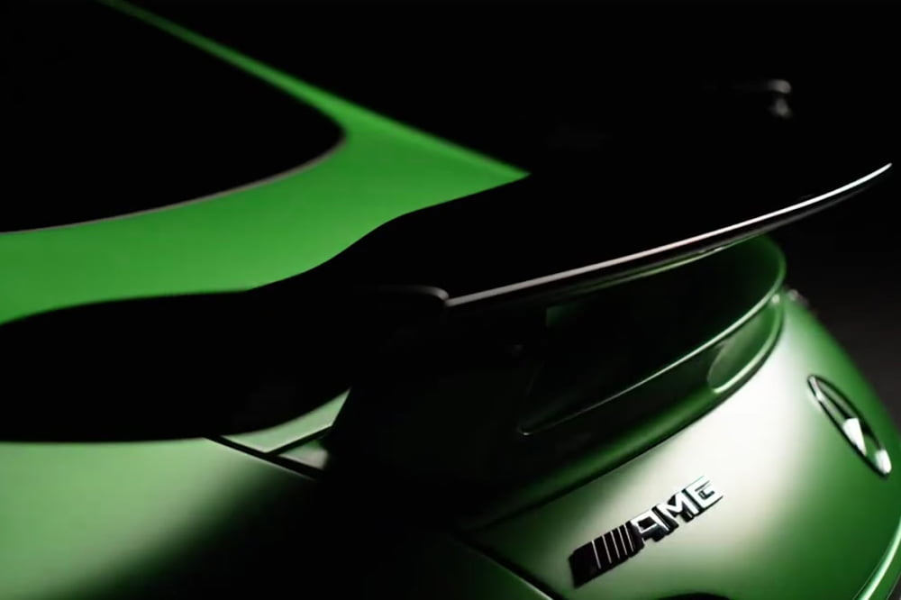 Mercedes-AMG GT R detalle aleron