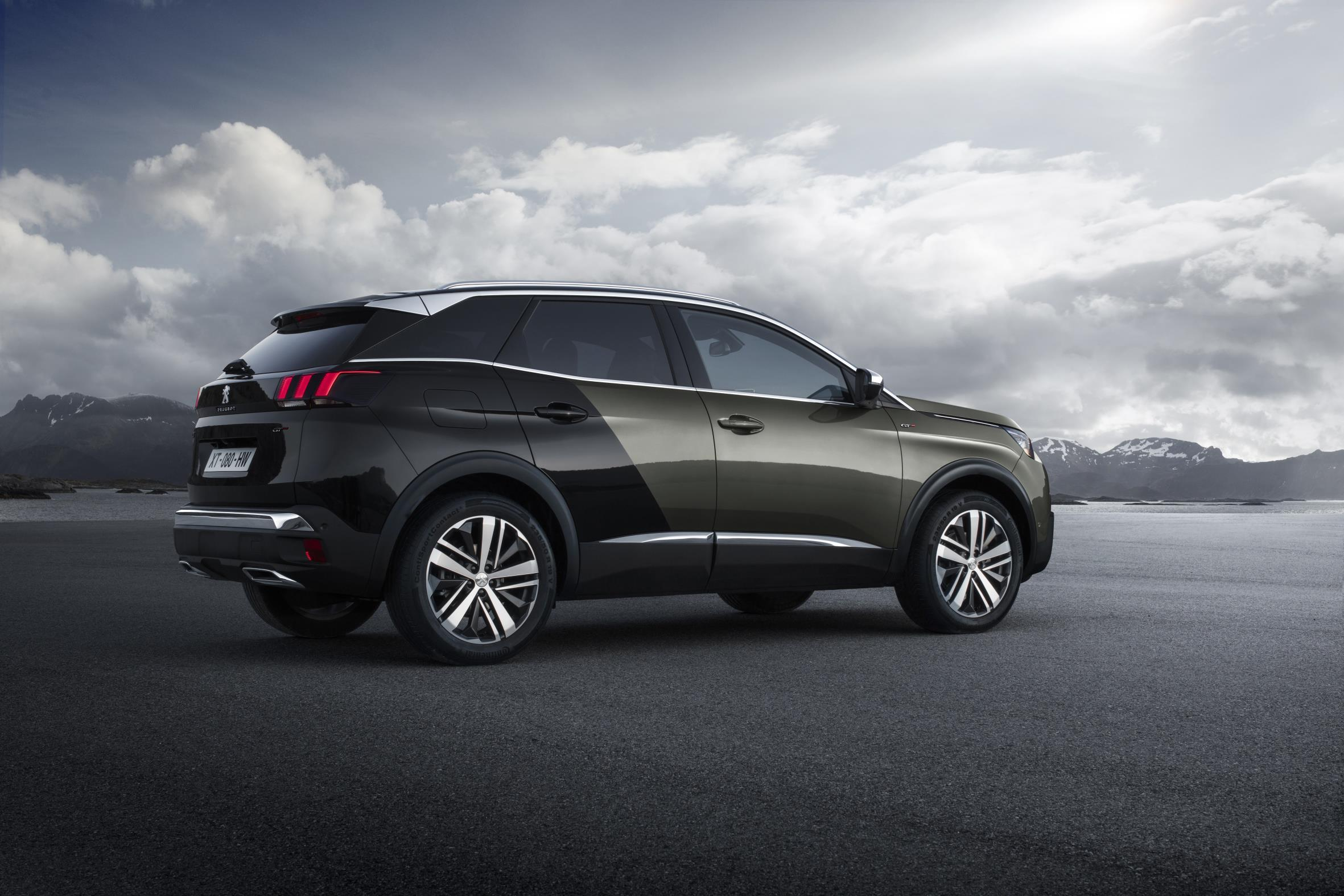 peugeot 3008 gt lateral
