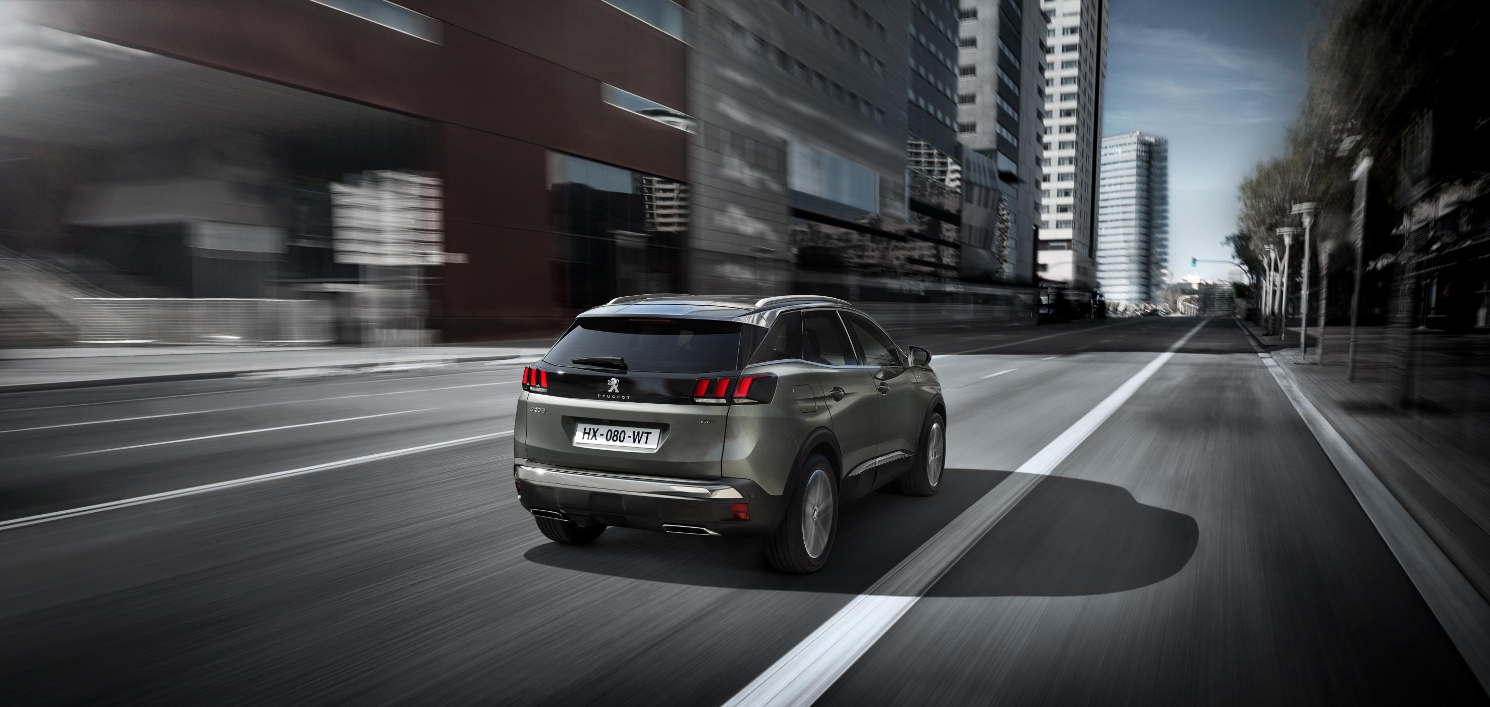 peugeot 3008 gt trasera
