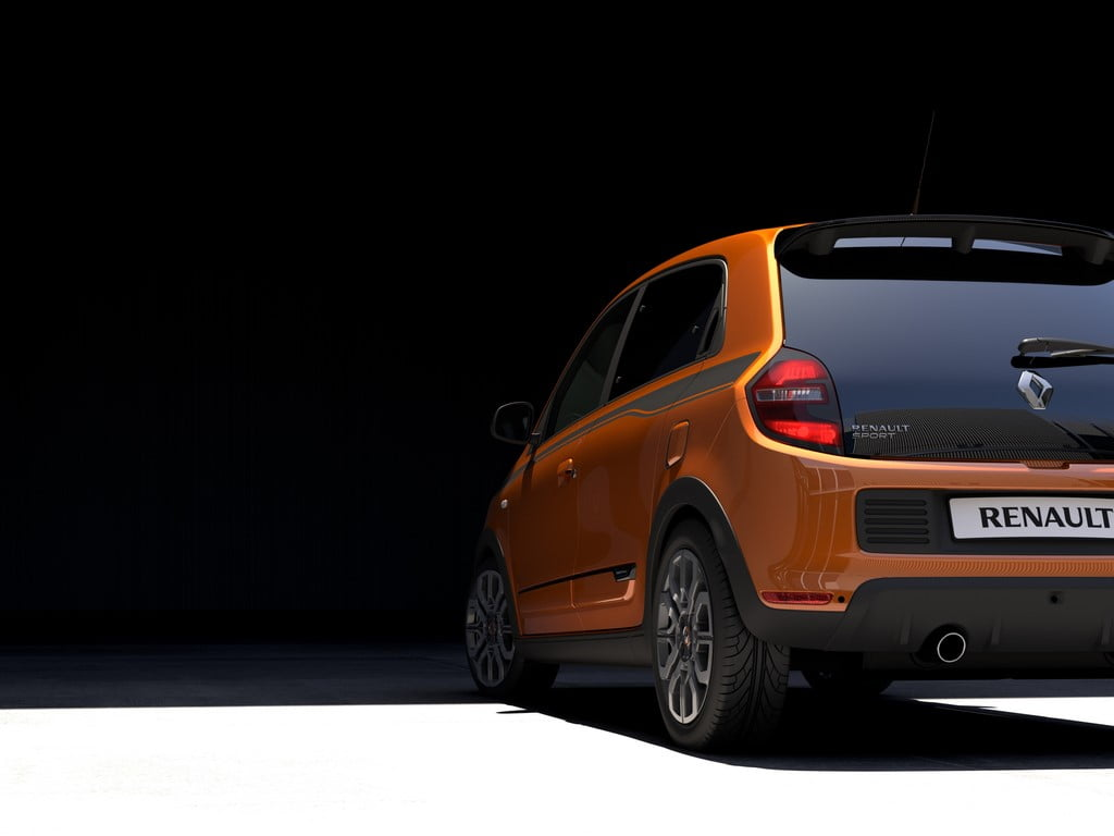 renault twingo gt trasera
