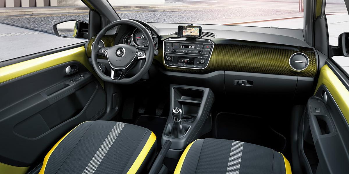 volkswagen up 2016 interior