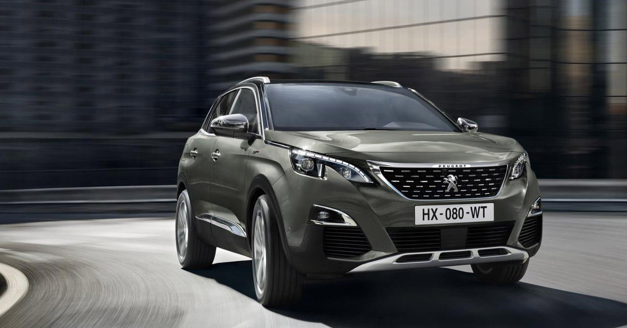 peugeot 3008 frontal