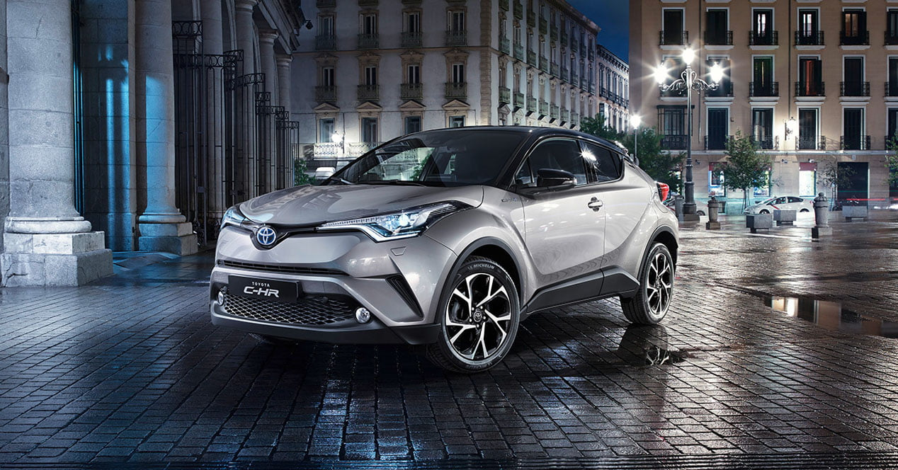 toyota c-hr frontal